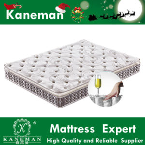 6 Star Hotel Mattress Pocket Spring Mattress Back Pain Relax Mattres 25cm pictures & photos