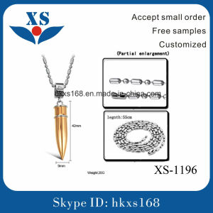 High Quality Stainless Steel Bullet Pendant pictures & photos