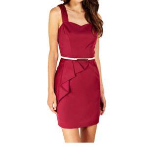 Women Fashion Ruffle Casual Dress (CHNL-DR018)