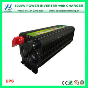 UPS Charger 5000W DC12/24V to AC110V 60Hz Power Inverter (QW-M5000UPS) pictures & photos