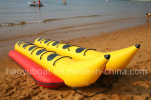 Inflatable Boat Banana Boat 10 Persons Floating Boat PVC or Hypalon Tube for Sale pictures & photos