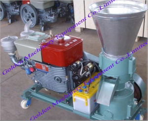 China Small Animal Feed Flat Die Pellet Mill Making Machine pictures & photos