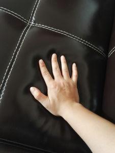 U Shape Leather Sofa, Modern Sofa, Black Color Sofa (A302) pictures & photos