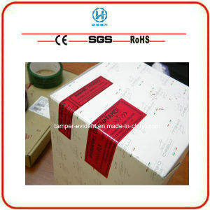 Zx Good Quality Cheap Security Tamperevident Tape