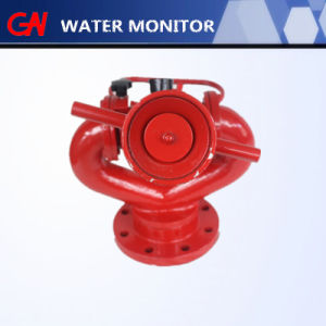 High Quality Portable Water Pressure Flange Fire Monitor for Fire Fighting pictures & photos
