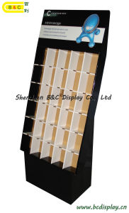 Pop Display, Corrugated Paper Display with Hooks, Display Stand, Cardboard Display (B&C-A009) pictures & photos
