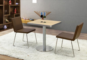 2 Seater Dining Table Set Furniture for Restaurant (FOH-BC49) pictures & photos