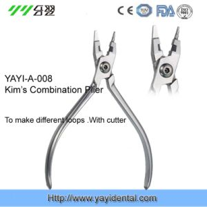 Orthodontic Pliers - Kim′s Combination Plier (YAYI-008) pictures & photos