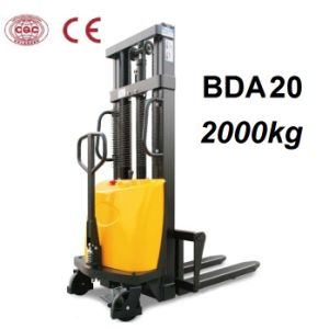 2000kg Semi Electric Stacker with Optional Lifting Height pictures & photos