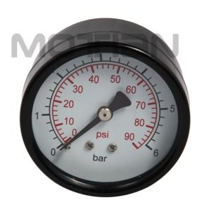 2 Inch Steel Case Glass Surface Pressure Gauge with Safety Requirement pictures & photos