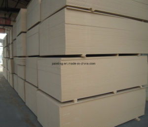 Plain MDF Board, Raw MDF Board pictures & photos