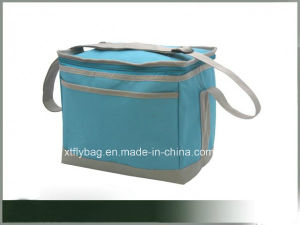 Fashion Polyester Cooler Bag for Beverage&Food with Front Pocket pictures & photos
