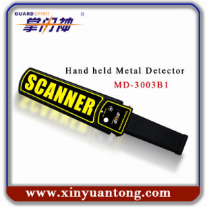 Rechargeable Hand Held Metal Detectors for Police pictures & photos