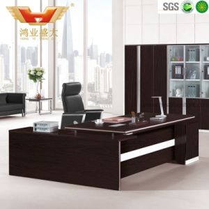 Classic Executive Room Genuine Office Desk pictures & photos