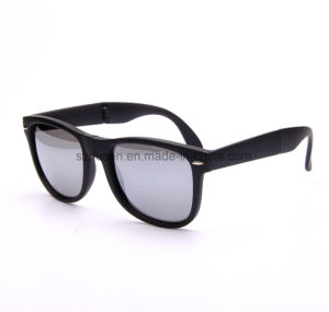 Wholesale High Quality Custom Logo Foldable PC Sunglasses pictures & photos