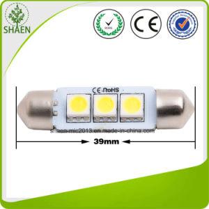 12V White 3SMD 37mm Car LED Light pictures & photos