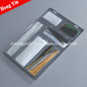 Hys-5*200 Hot Sale Wire Wrapping Self-Locking Nylon Cable Ties Meet UL for pictures & photos