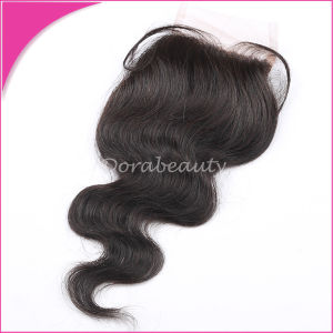 Brazilian Lace Closure Body Wave Human Hair Accessory pictures & photos