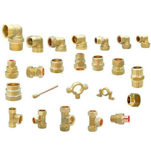 Brass Tee Fittings Parts with Mould (ACE-284) pictures & photos