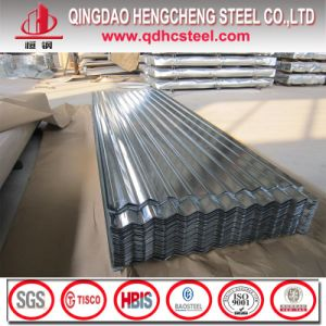 Hot Dipped Galvalume Corrugated Steel Roofing Sheet pictures & photos