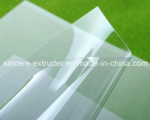 Cheap PVC PE Pet PC PS PP PMMA HIPS ABS Plastic Sheet Extrusion Machine/Acrylic Sheet Making Machine pictures & photos