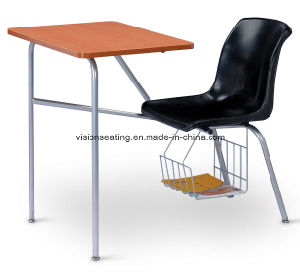 High School Classroom Campus Student Combo Desk (7302) pictures & photos