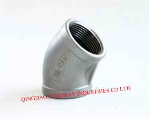 Stainless Steel Elbow 45. pictures & photos