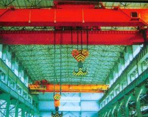 Double Girder Overhead Bridge Traveling Crane pictures & photos