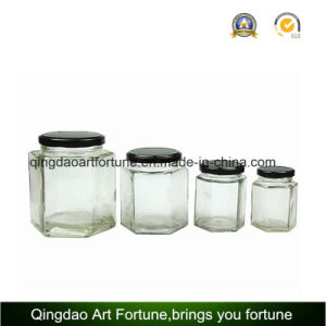 Glass Jars for Food and Honey with Metal Cap Supplier pictures & photos