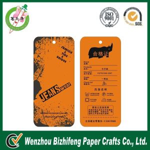 Custom Printed Clothing Hang Tags of Different Shapes