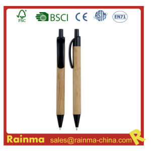 Wooden Bamboo Ball Pen for Eco Stationery635 pictures & photos