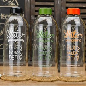 High Heat Resistant Pangdong Glass Bottle Gift Sport Cup Glass Cup pictures & photos