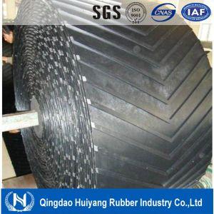 Chevron Patterned Rubber Conveyor Belt pictures & photos