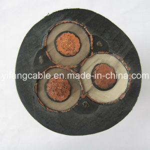 12/20KV 3X120mm2 EPR Insulation CPE Sheath Flexible Copper Cable pictures & photos
