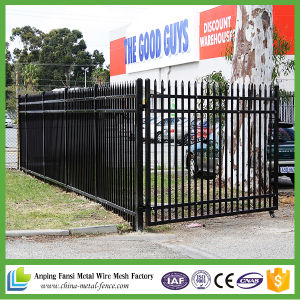 High Security Steel Tubular Fence and Gate Design for Yard pictures & photos