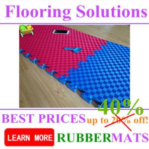 Children Playground Foam Rubber EVA Interlock Flooring Mat pictures & photos