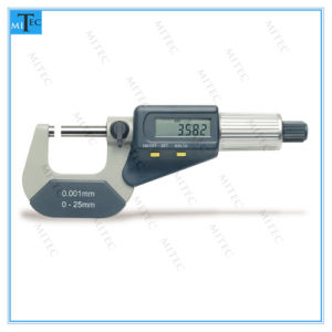Two Buttons Digital Outside Micrometer pictures & photos