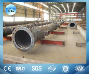 Galvanized Tubular Steel Lattice Communication Tower pictures & photos