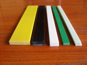 Pultrusion Solid High Strength Flexible FRP Flat Bar pictures & photos