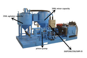 Hydraulic and High Pressure Cement Grout Pump pictures & photos