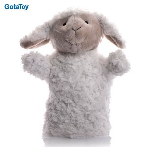 Custom Plush Toy Sheep Hand Puppet Stuffed Soft Toy pictures & photos
