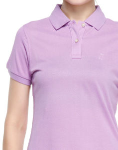 Custom 100% Cotton Women′s Polo Shirts pictures & photos