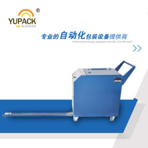 Yupack Cheap Price Pallet Strapper Machine&Semi Automatic Pallet Strapping Machine pictures & photos