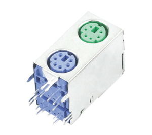Dule /Double Mini DIN Connector (MDC2-6-114) pictures & photos