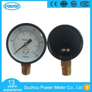 90mm Black Steel Case Bottom Type 7 Bar Manometer pictures & photos