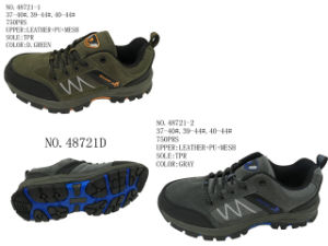 No. 48721 Couple Size Hiking Stock Shoes pictures & photos