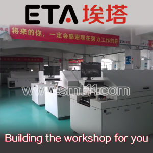 Dual Rails Lead Free SMT Reflow Oven S10 pictures & photos