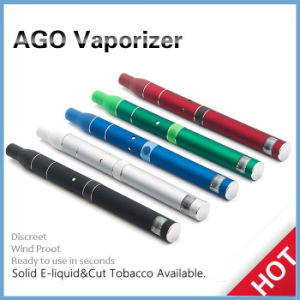Original Ago G5 Herb Vaporizer Wax Vaporizer Ceramics Heating Chamber LCD Puff Counts Portable Pen Style Dry Herb Vaporizer