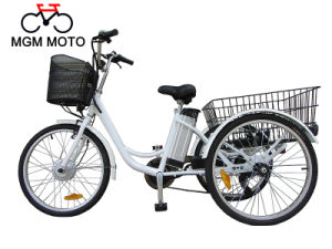 24 Inch Electric Tricycle for Cargos pictures & photos