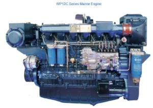 Weichai Wp12/Wp13 Marine Diesel Engine for Vessel Ship pictures & photos